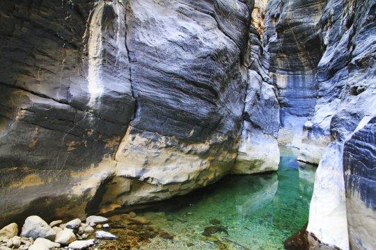Canyon im Oman