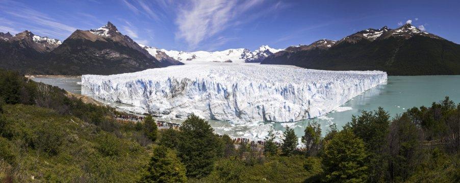 Perito Moreno Glaciar Los Glaciares National Park near El Calafate Patagonia Argentina 2