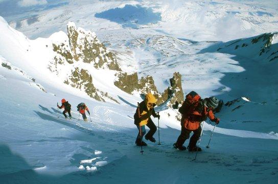 Skiaufstieg Erciyes Türkei