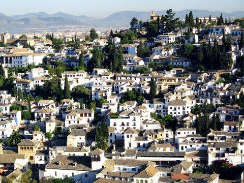 Granada, Blick auf den Albaizyn