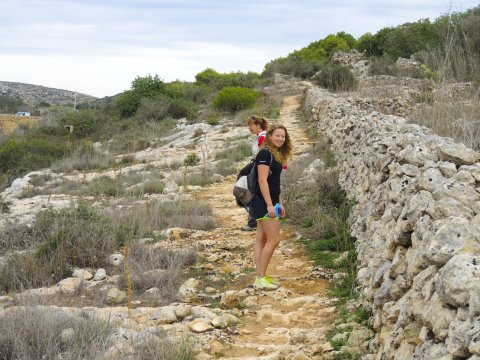 Wanderung zur Mistra Bay
