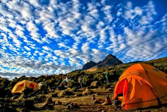 Zeltcamp am Kilimanjaro