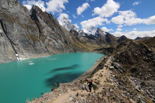 Peru Cordillera Huayhuash Gletschersee