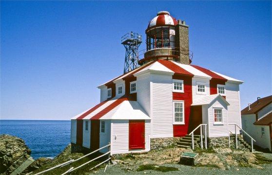 Kanada Neufundland Ostkueste Leuchtturm