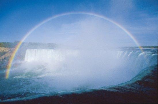Niagarafälle Regenbogen