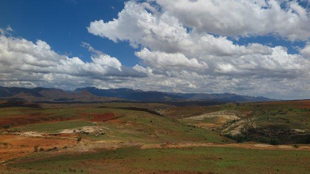 Südafrika-Landschaft-Lesotho
