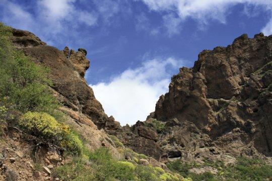 Felsformationen auf Gran Canaria