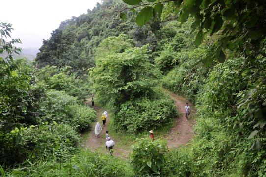 Wandern in Myanmar