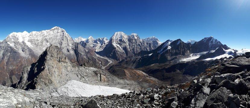 Rolwaling Panorama