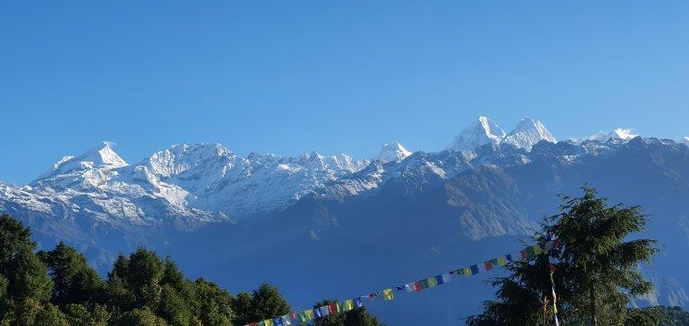 Bergpanorama im Helambu