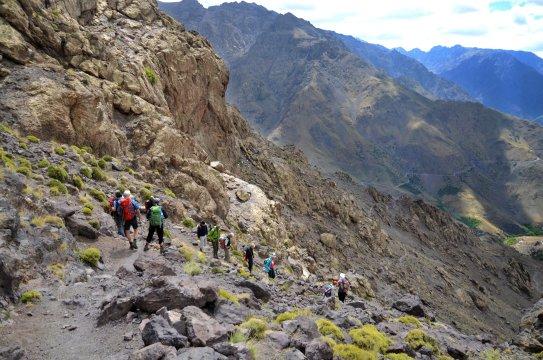 Marokko Hoher Atlas Trekking Tag 8