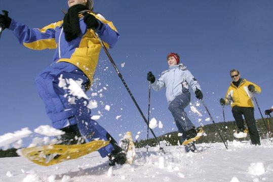 Schneeschuhwandern. Foto OOET Weissenbrunner3
