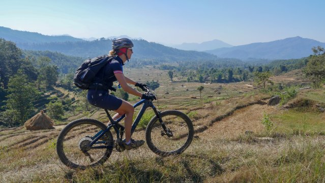 Nepal-MTB-Panorama-Trails-Ausblick