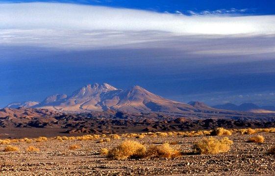 Salzsee in San Pedro de Atacama