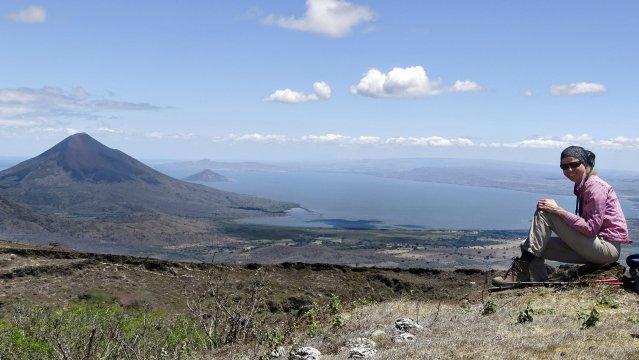 El Hoyo Gipfel Vulkan Nicaragua