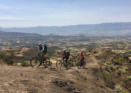 Auffahrt in Äthiopien