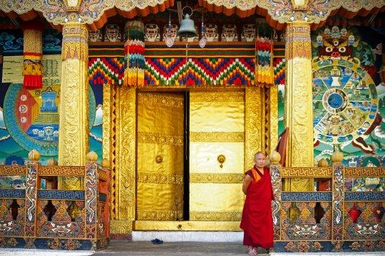 Prachtvoller Punakha-Dzong