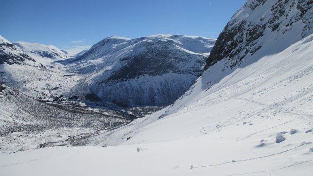 Norwegen-Aufstieg-Hogstollen