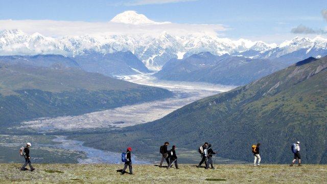 Peters Hills Mt McKinley Wildnisabenteuer Alaska