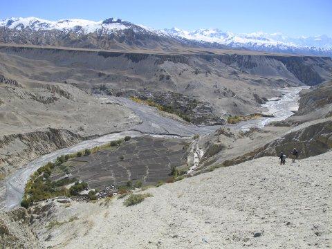 Annapurna Himal Ekle Bhatti mit Kali Gandaki