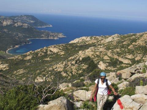 Blick auf Capu di Veta