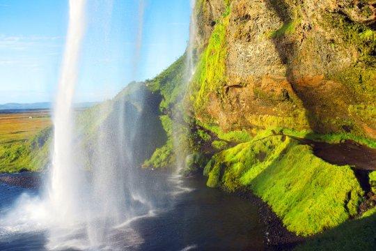 Seljalandsfoss-Wasserfall