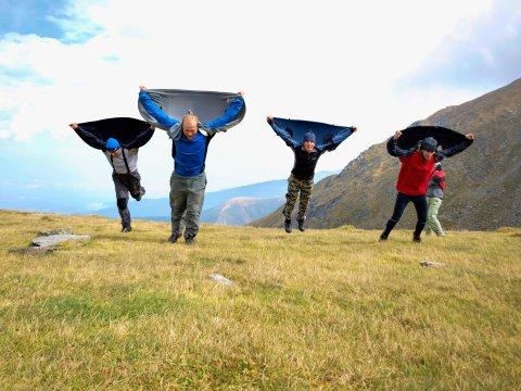 Windschutz empfohlen