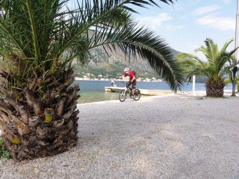 Montenegro-MTB-An der Küste