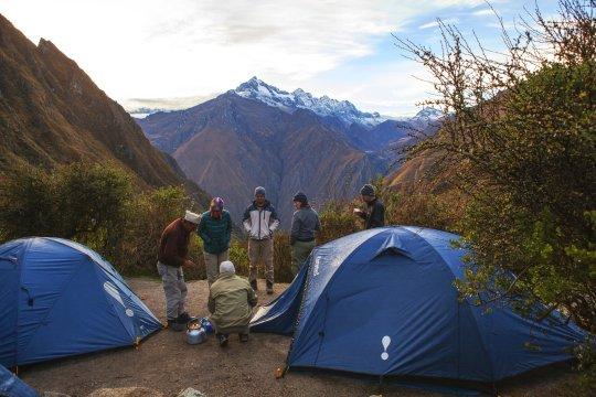 Zeltplatz am Inka Trail_2