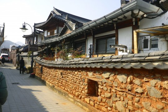 Hanok traditionellesHaus Suedkorea