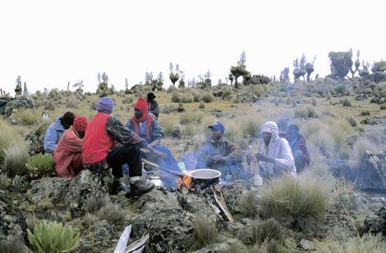Mt. Kenya Kaweti Route