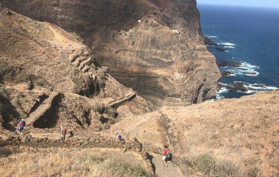 Santo Antao - Wanderweg an der Küste