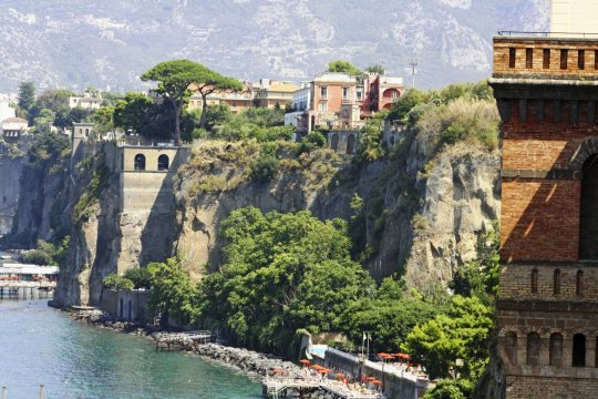 Steilküste bei Sorrento