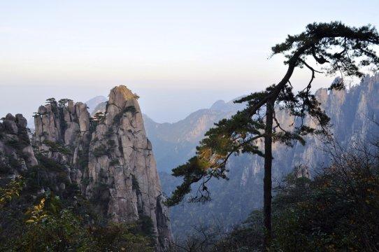 Huangshan Bergwelt