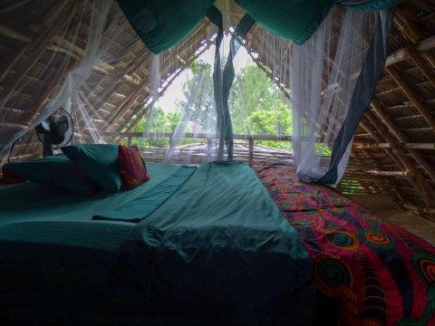 Chumbe Island Schlafzimmer inmitten der Natur