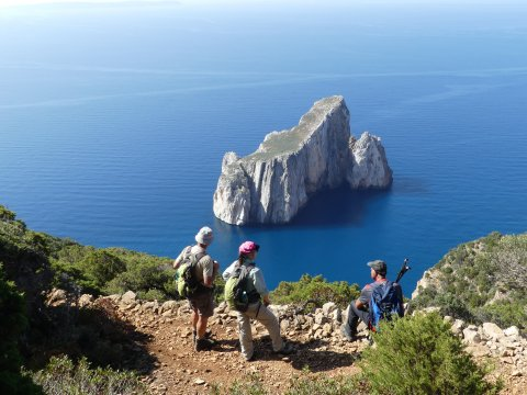 Sardinien Masua, Cala Domestica + Pan di Zucchero
