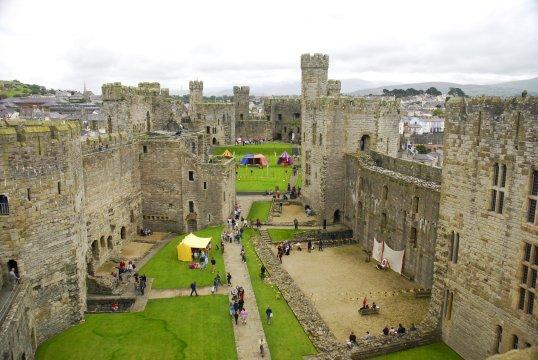 Wales Burg Caernarfon