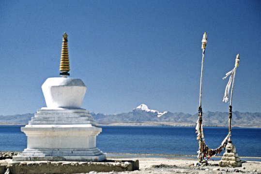 Manasarowar-See vor Kailash