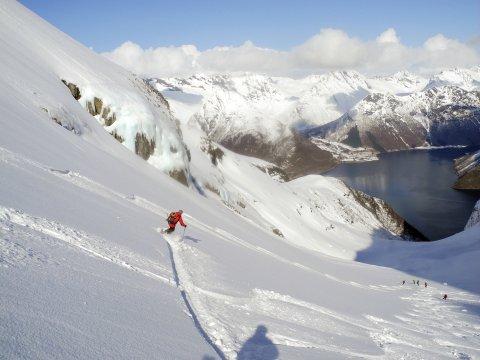 Norwegen Sunnmore Ski Abfahrt_2
