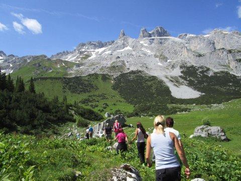 Wanderung in Richtung Lindauer Hüte