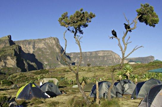 Chenek Camp Semyen Gebirge