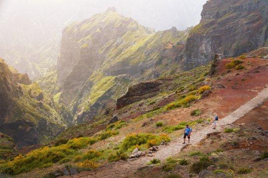 Wandern beim Pico Ruivo