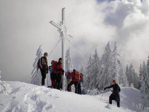 Schneeschuhgehen Bayerischer Wald 6