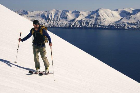 Island Aufstieg mit Ski_2
