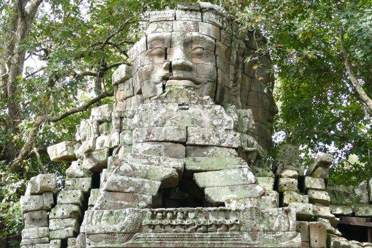 Tempelruine Angkor