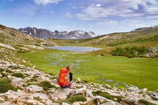 Korsika - Lac de Nino GR20
