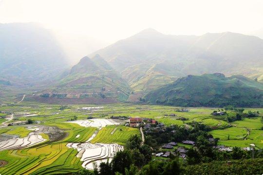 Reisterrassen Mu Cang Chai