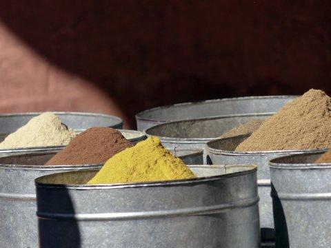 Gewürz Markt in Marokko_2