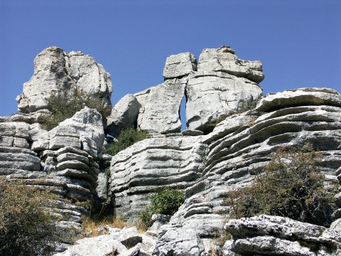 Faszinierende Felsformationen imTorcal