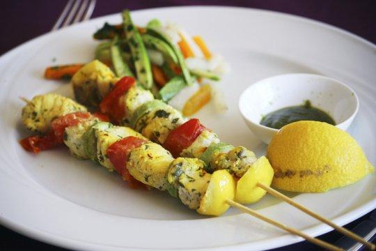 Marokko Kulinarish Fisch Spiess_2